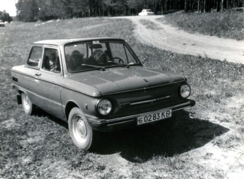 Мой первый автомобиль (ЗАЗ 968 М).
