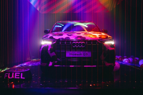 Яркий дебют нового Audi Q3 в России