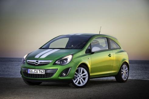 Opel Corsa 2011: новый спортивный облик и экологичность