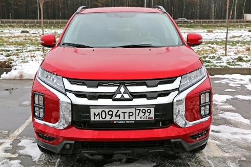 Тест-драйв: Mitsubishi ASX (2.0 CVT)
